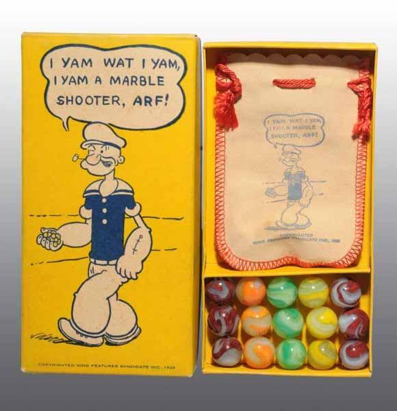 Akro Popeye Marble Box